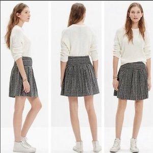 Madewell Silk Skyline Print Skirt